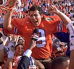 Adam Sandler as Bobby Boucher in The Waterboy <br>(The adam sandler experience)