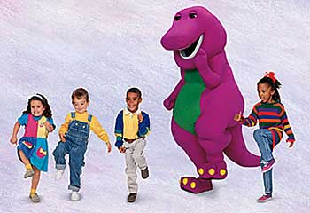 Barney With Kids