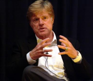 Robert Redford at the Skoll World Forum (Greg Smolonski Photography)