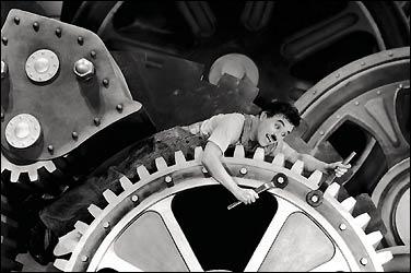 Chaplin in <i>Modern Times</i> (http://www.wilsonsalmanac.com/book/apr16.html)