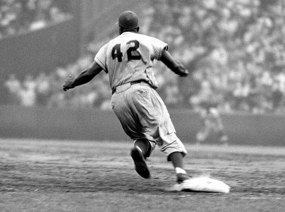 Jackie Robinson was the first African american (Google images  ())