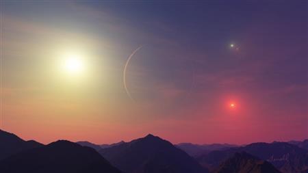 Kepler 64 Moon (http://kepler.nasa.gov/ (Terrell, Boulder, CO))