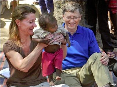 Bill Gates in Africa (Online  (Mediakomonews.com))
