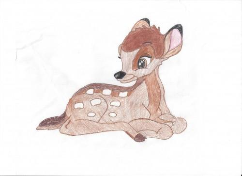 Bambi (I drew it (Me))