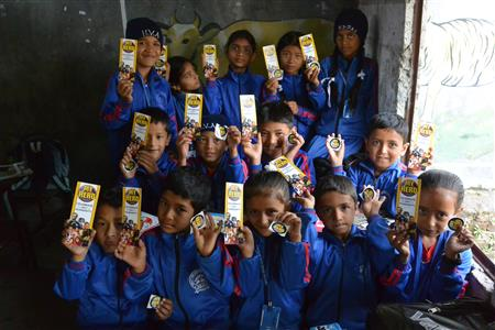 Students at Himalaya Deep Jyoti Boarding School  ( (Annie Merkley))