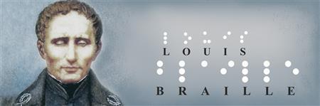 Risultati immagini per louis braille