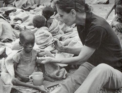 Audrey tries to help a fragile boy eat (satanslifecoach.tumblr.com ())