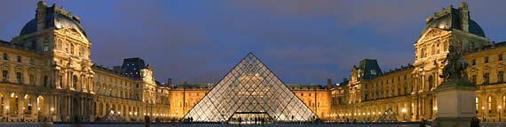 The Musee du Louvre in Paris, designed by Pei. (http://www.discoverfrance.net/France/Paris/Museums (Benh Lieu Song))