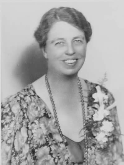 A portrait of Eleanor Roosevelt (https://en.wikiquote.org ())