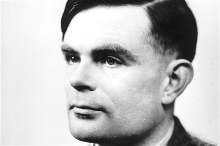 Alan Turing as a man