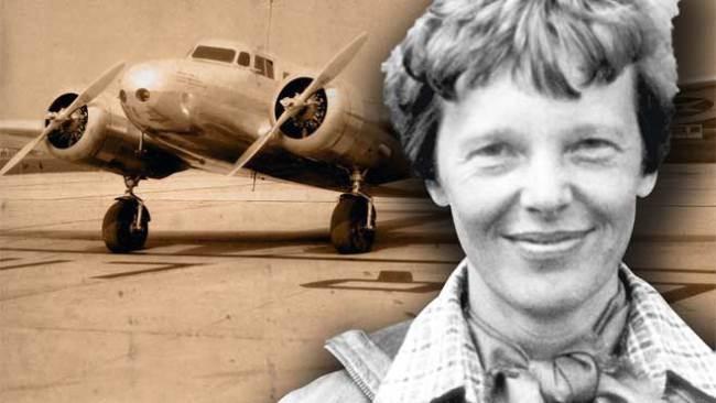 Amelia Earhart ( ())