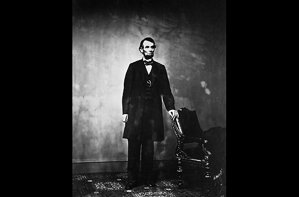 Abraham Lincoln Portrait (Time Inc. (Bettman and Corbis))