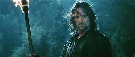 Aragorn in the forest (http://lotr.wikia.com/wiki/File:Aragorn_in_Forest. (Peter Jackson))