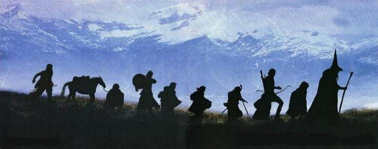 Gandalf and Aragorn leading the Fellowship (http://ragazzi.org/performances/archive/fellowship (eternal-image))