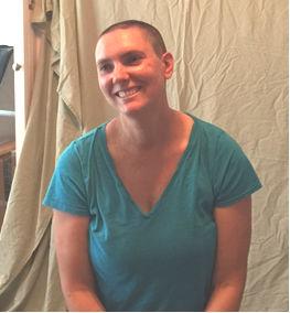 Hayden during her battle against breast cancer ( ())