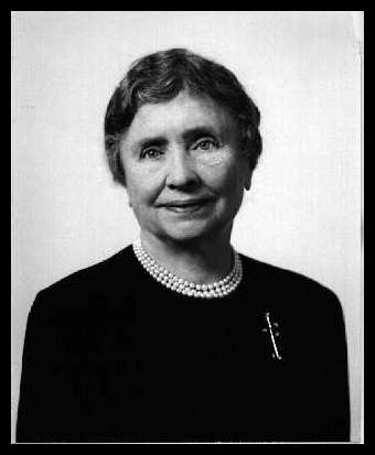 hellen adams keller Top 10 helen keller quotes at brainyquote share the best quotes by helen keller with your friends and family.