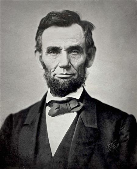 This is Abraham himself in a self portrit  (https://en.wikipedia.org/wiki/Abraham_Lincoln (wikipedia))