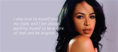 Aaliyah singer, dancer, actress, and model. (http://www.aaliyah.com/)