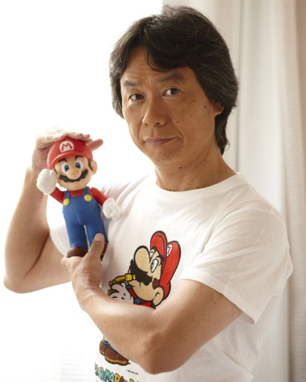 Shigeru Miyamoto MY HERO - Famous video game designers