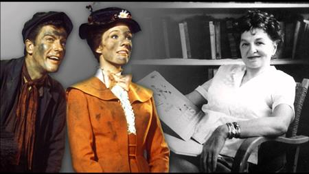 Mary Poppins movie characters & P.L. Travers