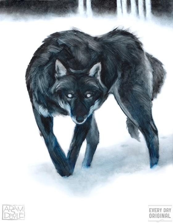 A Wolf (http://www.everydayoriginal.com/product/1770/ (Adam S. Doyle))