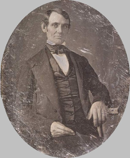 Abraham Lincoln as a young adult. (Publishers, History Place.