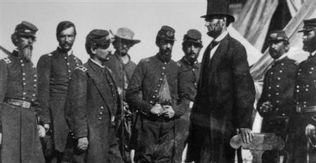 Abraham Lincoln during the Civil War.  (History.com Staff.