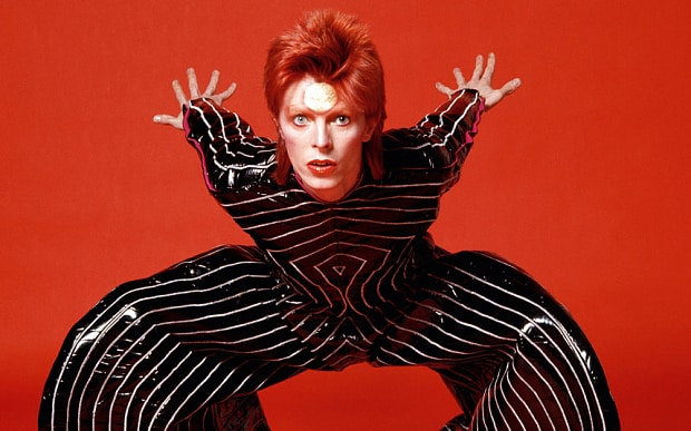 David Bowie, Aladdin Sane (http://www.telegraph.co.uk/culture/music/music-new (Brian Duffy))
