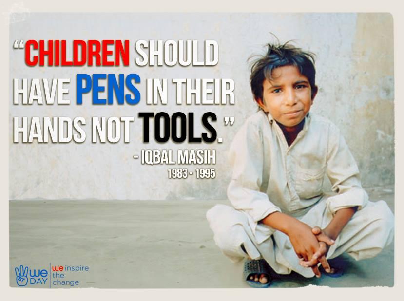 Iqbal Masih My Hero