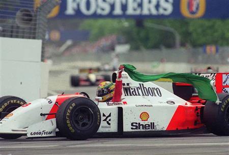 Ayrton Senna My Hero