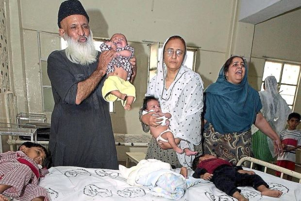 Edhi caring for orphans at Edhi Welfare Centre (http://www.thestar.com.my/lifestyle/people/2015/04 (AFP ))