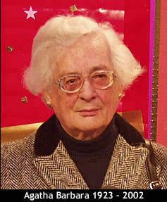 Agatha Barbara (Google Images)