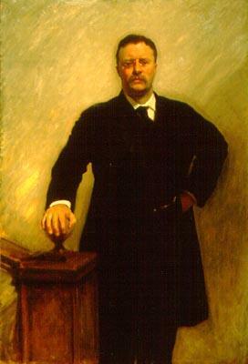 Theodore Roosevelt as a president <br>(www.modjourn.brown.edu/ Image/Sargent/Presiden... )