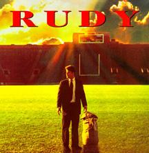 Rudy movie language