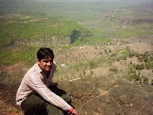 Dr. Deepak Acharya near Patalkot Valley