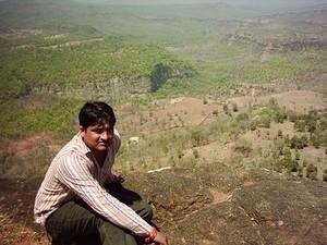 Dr. Deepak Acharya near Patalkot Valley