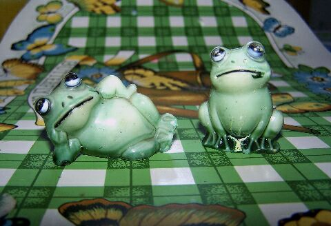 He collects frog miniatures. (Google)