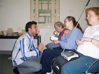 Vikas Khanna at Andrew Heiskell Library (www.vkhanna.com)