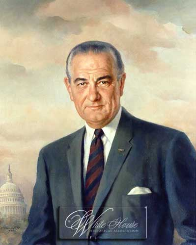 Lyndon Baines Johnson (http://www.whitehousehistory.org/)