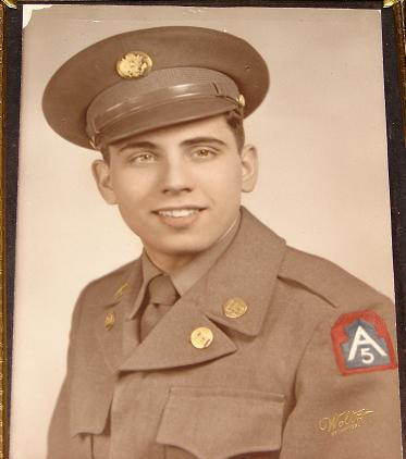 My grandfather in his army uniform (https://paltry-sage.blogspot.com/)