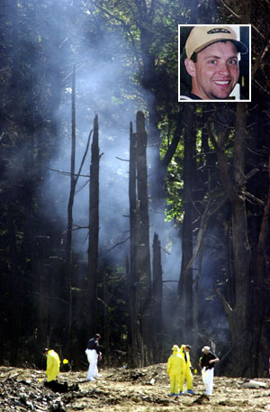 Forest Where the Plane Crashed