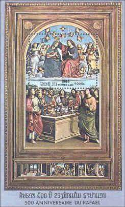 Raphael's Coronation of the Virgin