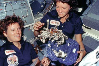 Sally Ride and Katherine Sullivan (NASA)