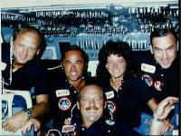 Sally Ride and Crew (NASA)