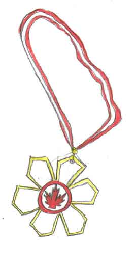 The order of Canada (I drew it)