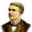 Thomas Edison when he was older. (http://www.thomasedison.com/biog.htm)