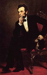<a href=http://www.whitehouse.gov/history/presidents/al16.html>Abraham Lincoln</a>