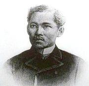 <a href=http://en.wikipedia.org/wiki/Image:Jose_rizal_1896.jpg>Jose Rizal before his execution