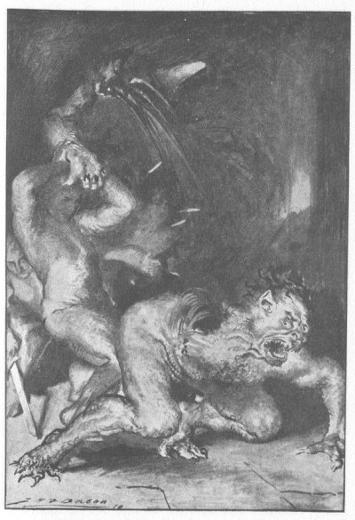 <a href=http://www.sacred-texts.com/neu/eng/hml/img/01600.jpg>Beowulf Ripping Grendel's arm off</a>