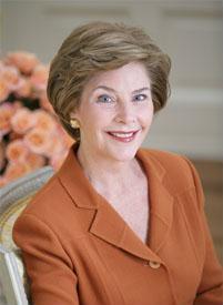 <a href=http://upload.wikimedia.org/wikipedia/commons/6/6a/Mrsbush-20060206.jpg>Laura Bush</a>